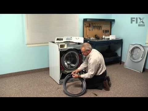 Maytag Washer Repair How To Replace The Door Boot Seal Gray Youtube Maytag Washers Washer Repair Washing Machine Repair