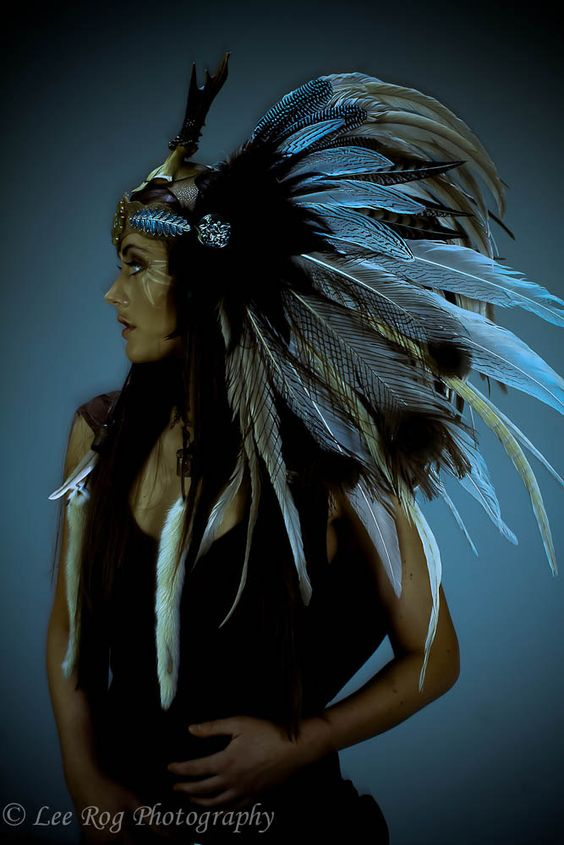 Reserved for Emily Morin- The Healer Feather Headdress
