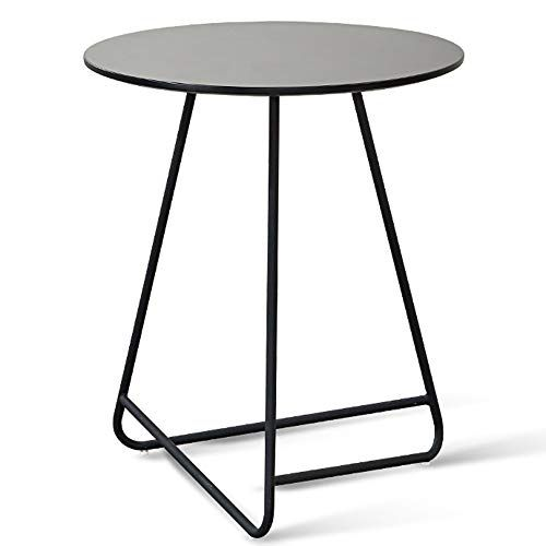 Liruipengbj Gwdj Side Table Solid Wood Stable Small Round Table