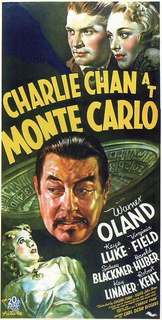 Vintage Movie Poster Fridge Magnet Charlie Chan at by Vividiom, $3.50: