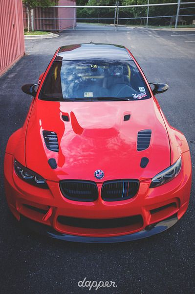 BMW M3 wow I want this car. (In black)