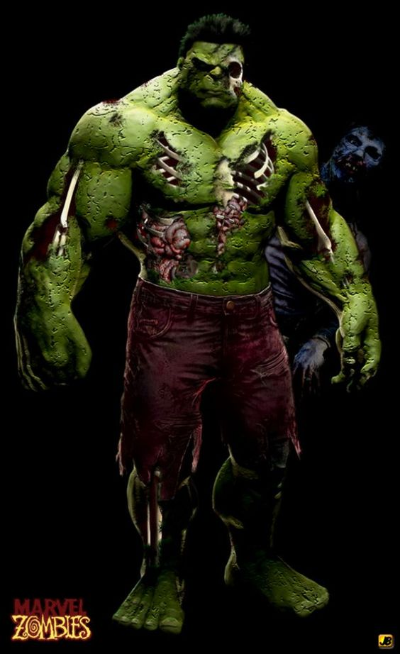 Zombies And Hulk On Pinterest