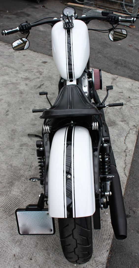 Harley Davidson Sportster 48 By Bobber FL Motorcycles- I love this, very aggressive looking.