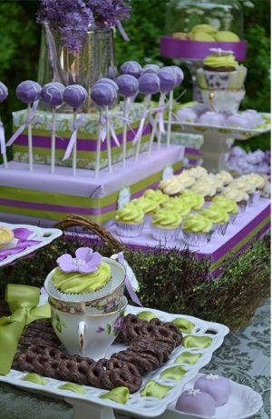soportes para pop cakes y piruletas de mesas de postres