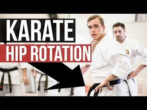 HOW TO USE HIPS IN KARATE TECHNIQUES | Shomen & Hanmi