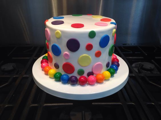 Polka Dot Birthday Cake Polka Dot Birthday Cake Birthday Cake