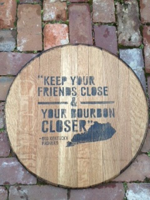 Repurposed  Kentucky  bourbon barrels... by KentuckyGalsKreation