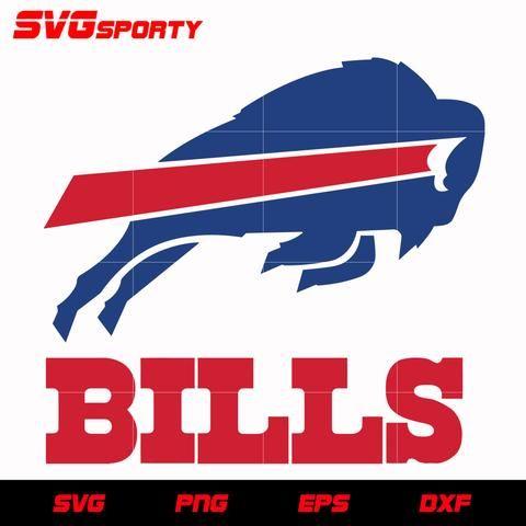 Buffalo Bills Logo Svg Nfl Svg Eps Dxf Png Digital File Buffalo Bills Logo Bills Logo Buffalo Bills