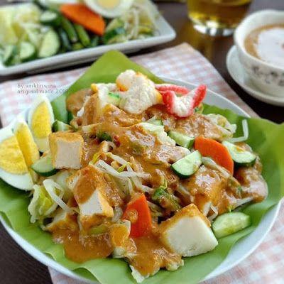 Gado Gado Makanan Sehat Resep Masakan Resep