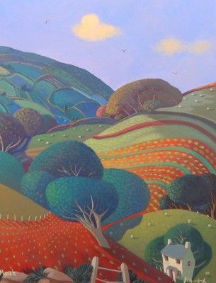 Starling Hill by British Contemporary Artist Jo MARCH