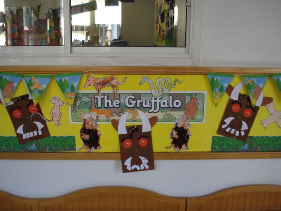 Our Pre-K display Board.