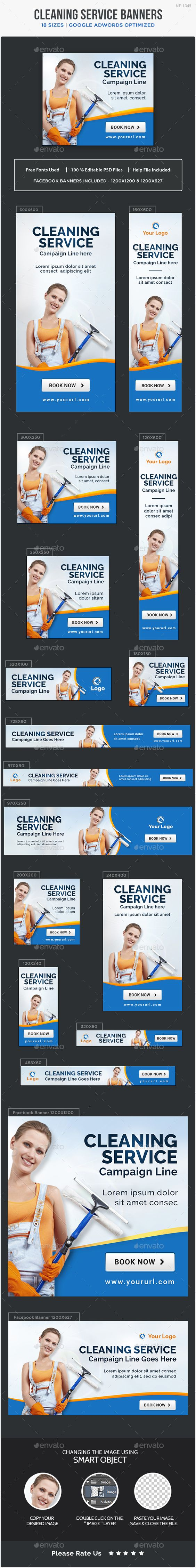 cleaning service banners cleaning banners and design templates cleaning service banners design template banners ads web template psd here