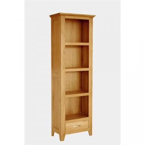 Cambridge Oak Tall Narrow Bookcase Tall Narrow Bookcase