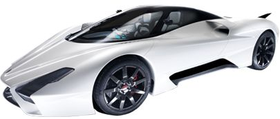 this seriously looked like it came out of a video game... SSC Tuatara