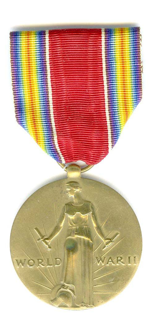 World War II Victory Medal - my dad had one of these. God bless him.