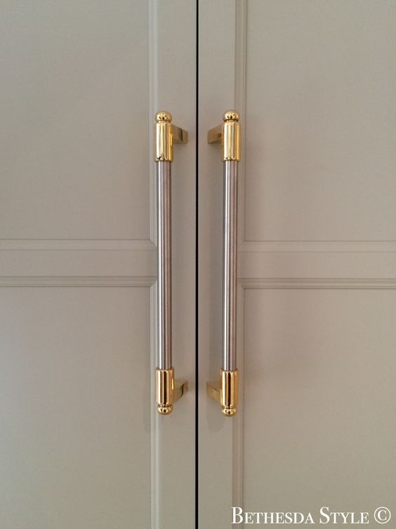 Antique Brass Pull Handles For Kitchen Cabinets