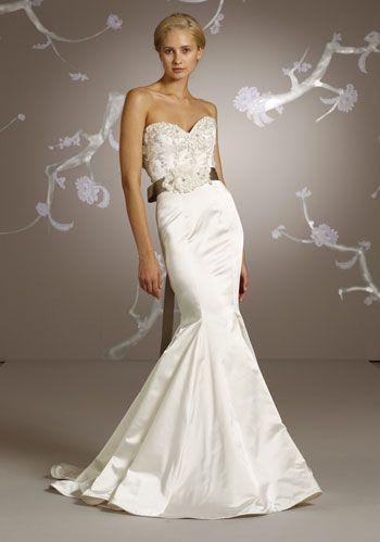 Lazaro Bridal Gowns, Wedding Dresses: Style LZ3105