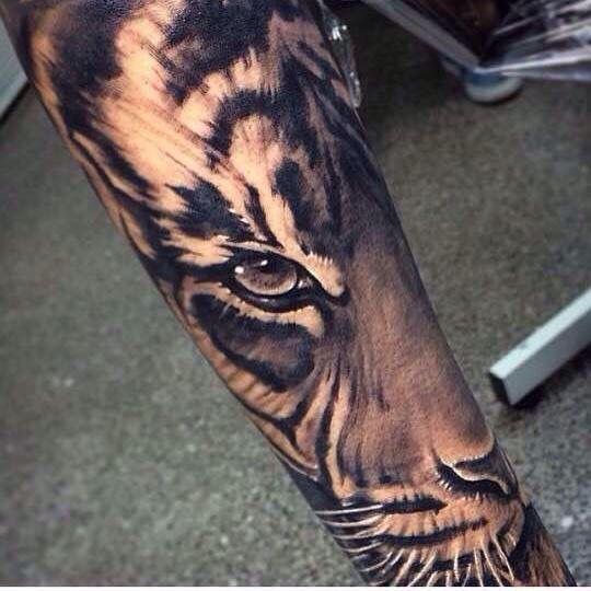 This is my next tattoo. Finishing my half sleeve  #tattoo #tiger #halfsleeve