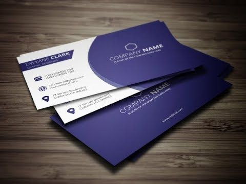 Adobe Illustrator Cc Tutorial How To Create A Professional Business Card Flyer Yout Clean Business Card Design Cleaning Business Cards Business Card Design