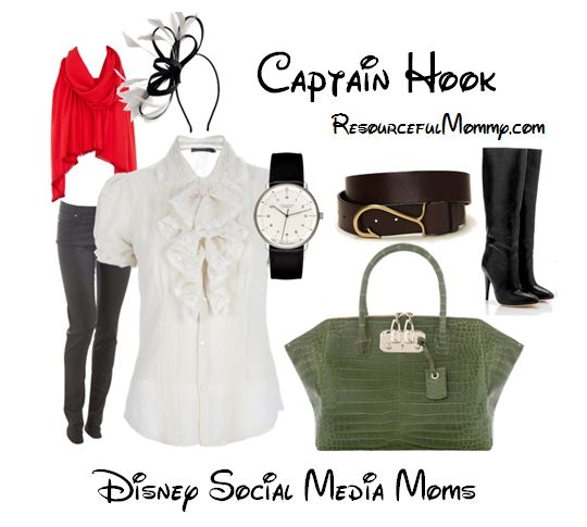 disney inspired outfits | Disney Villain Inspired Fashion – Captain Hook and Cruella de Vil