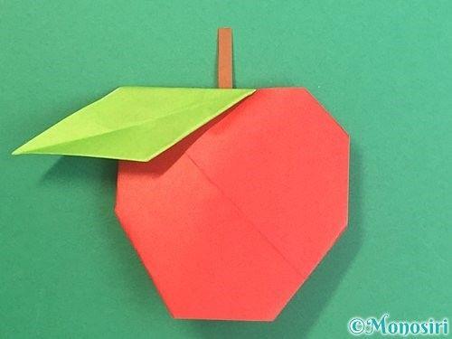 折り紙でりんごの折り方 簡単なりんごを2種類紹介 ページ 2 Monosiri 折り紙 秋 折り紙 折り紙 可愛い