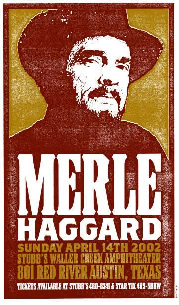Awesome Concert Posters C3 Concerts 187 Poster Merle