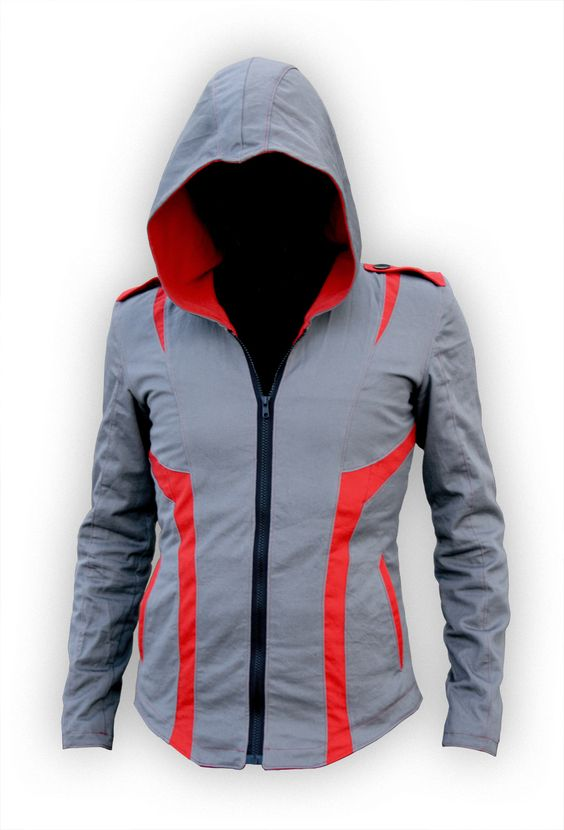 Assassin's Creed armor-themed jacket for $350, with customizable colors. Made to size, but I have a feeling it's better for slimmer men than I.