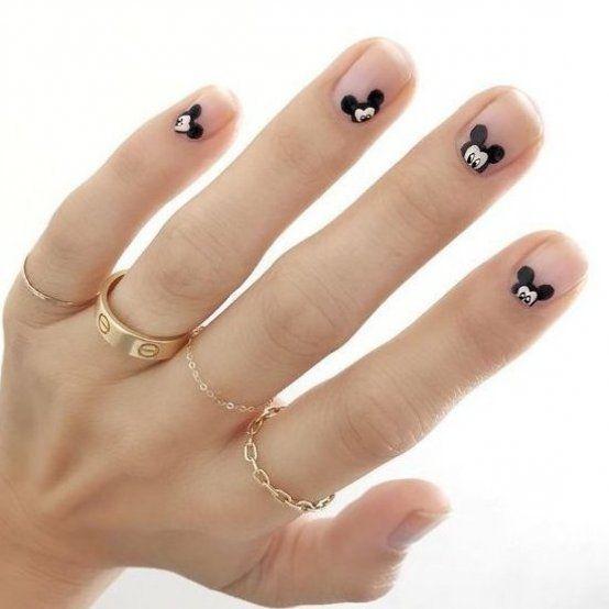 39 Stunning Minimalist Nail Arts For Everyday Style Marmaletta Nails Nailart Naildesign Naildecor Color Minimal Be Warna Kuku Ide Cat Kuku Desain Kuku