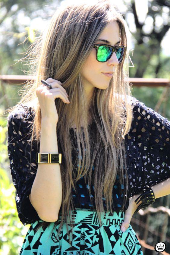 Quiero unas gafas así. ¡Brillantes e Inmensas!