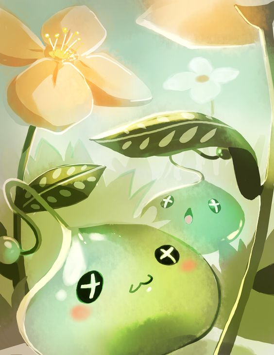 Maplestory Slimes by Pochi-mochi.deviantart.com on @deviantART