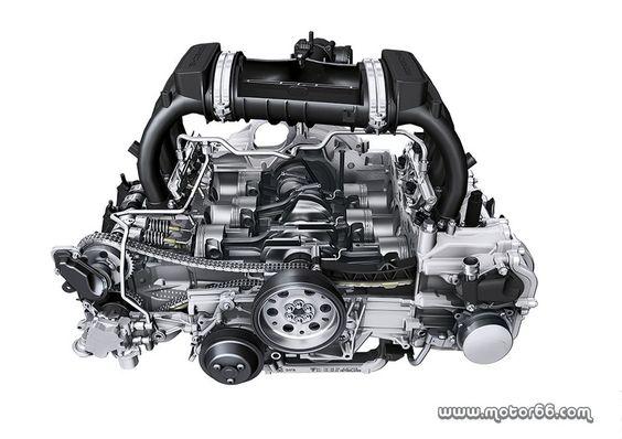El motor Bóxer de 2.7 litros de Porsche, mejor motor del año en su categoría