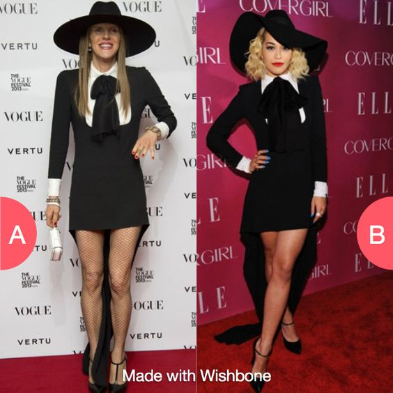Who wore it better? Click here to vote @ http://getwishboneapp.com/share/474650