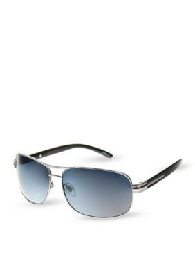 Foster Grant Gray Gun Metal Sunglasses