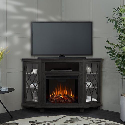 40 9 W Electric Fireplace In 2021 Corner Electric Fireplace Fireplace Tv Stand Electric Fireplace Corner electric fireplace entertainment center