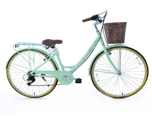 Broadribb Traditional Ladies Alloy Town Bike Mint Green Bike Womens Bike Bike Accessories