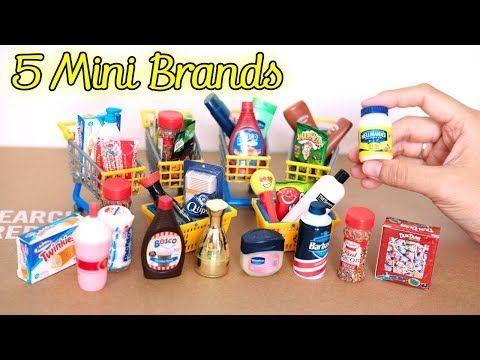 5 Balls ZURU 5 Surprise MINI BRANDS Authentic Miniatures For Dolls LOL Series 1