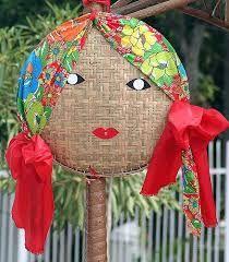 Resultado de imagem para decoração de festa junina balão