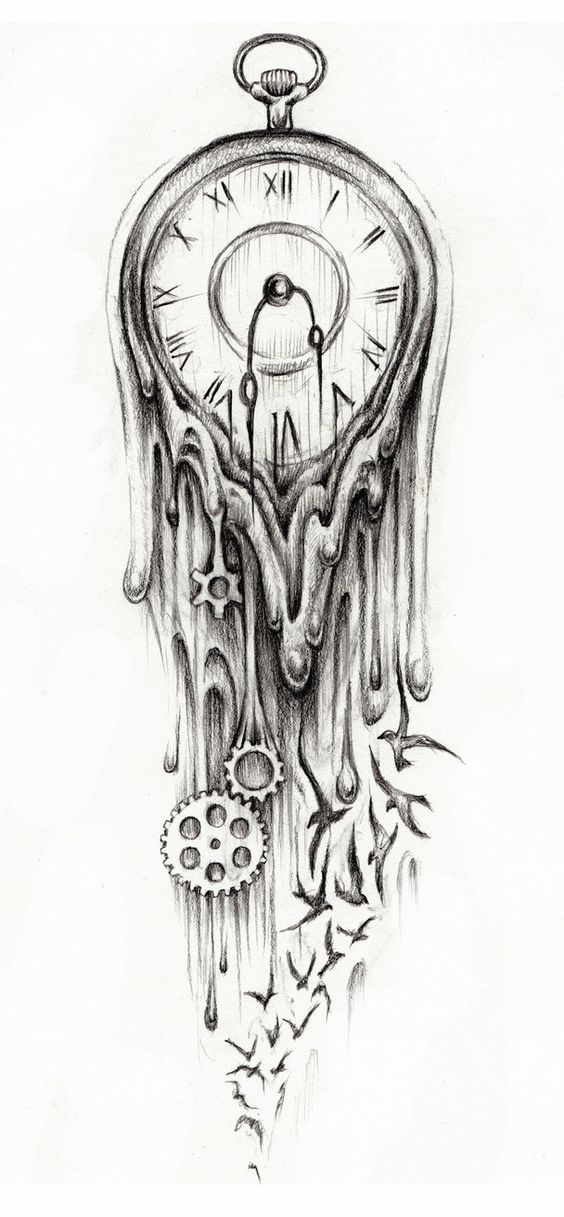 time fly tattoo designs - Buscar con Google