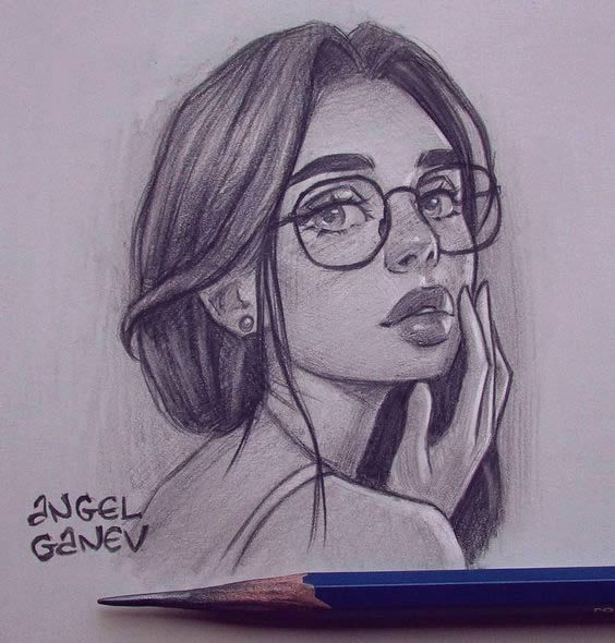 60 Most Beautiful Creative Drawing Ideas In 2020 Girl Drawing