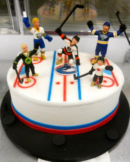 Terrific Hockey Cake Hockey Birthday Cake Hockey Cakes Hockey Birthday Personalised Birthday Cards Cominlily Jamesorg