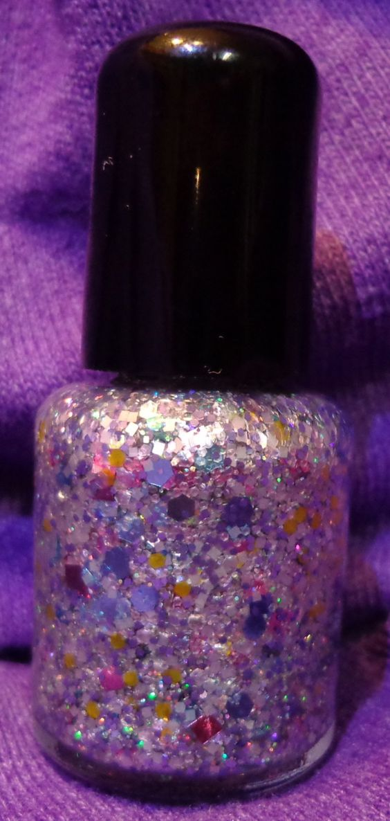 EASTER IN A BOTTLE - Mini. $5.00, via Etsy.... Love Sparkle Factor Lacquer Polish!!!