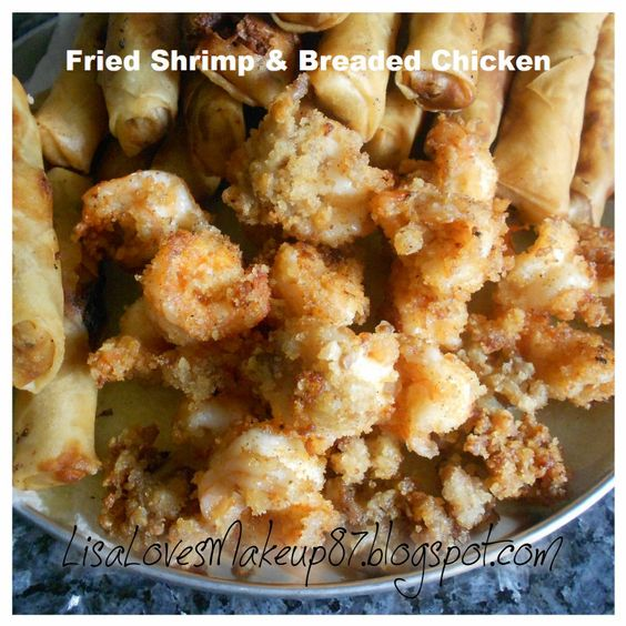bread crumbs on shrimp how to cook