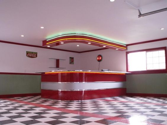 The 1950s Diner » mcvayscontracting.com - Remodeling Specialist