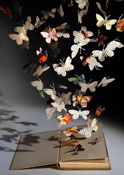 Paper butterflies...beautiful:
