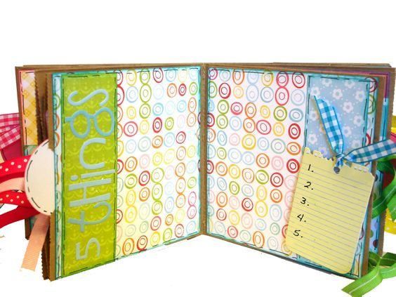 What I Like About You Scrapbook - Paper Bag Album. $28.00, via Etsy.