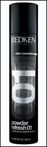 Amazing NEW REDKEN Dry Shampoo because washing your hair every day is not good for your hair...save the style for an extra day