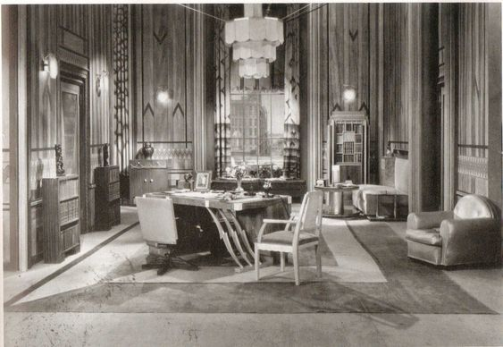 art deco set design - Google Search: