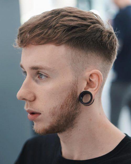A Clean High Fade Haircut For Men With Thick Hair Menshaircuts