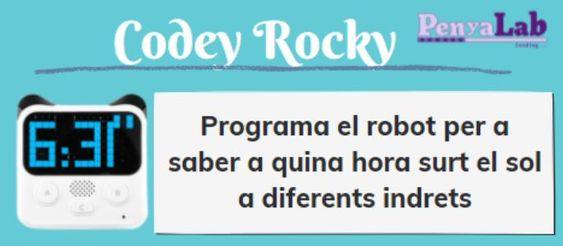 CODEY ROCKY – A quina hora surt el sol a…?