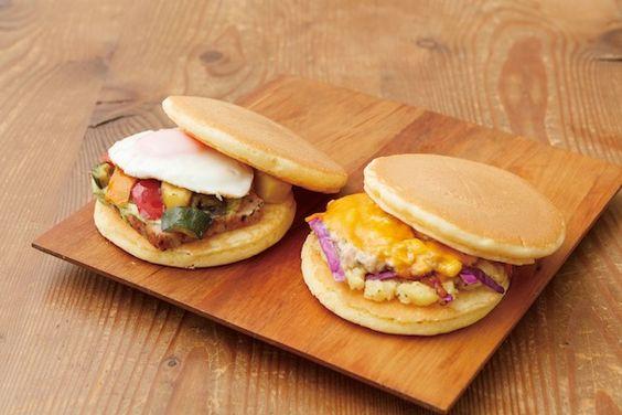 片手で食べられる「パンケーキサンドイッチ」が東京駅で限定販売 | FOOD | LIFE | WWD JAPAN.COM